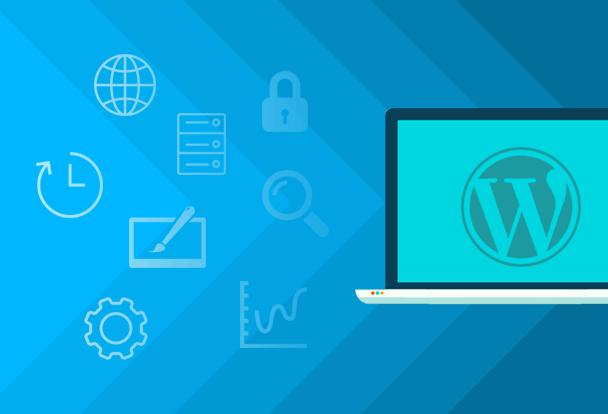 WordPress spletna stran
