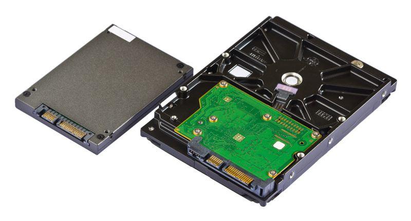 Primerjava SSD in HDD diska