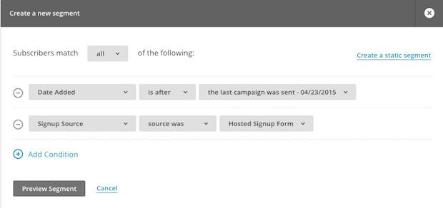 Odstranitev lažnih prijav v MailChimp