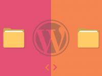 Prenos WordPress strani med mapami