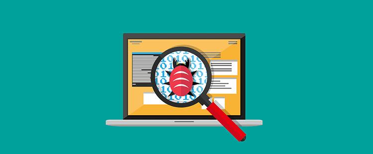 Iskanje in čiščenje virusa na spletni strani