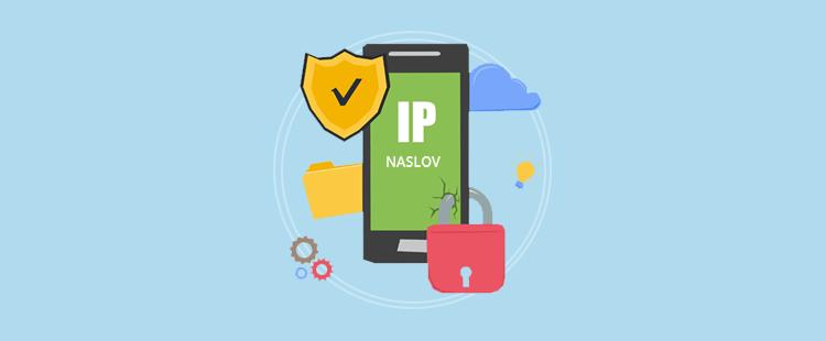 IP naslov - blokada