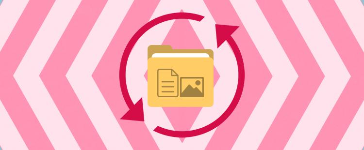 Obnovitev datotek in map