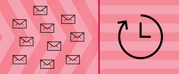 Omejitev pošiljanja e-sporočil