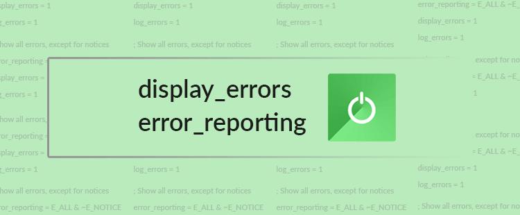 Prikazovanje PHP napak