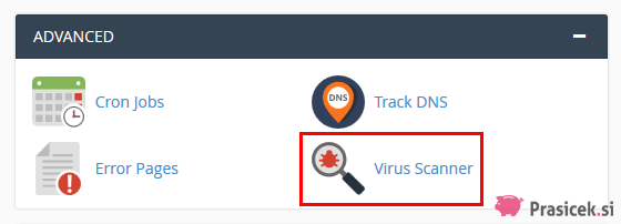 Virus Scanner (cPanel)