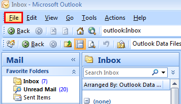 Outlook datoteka