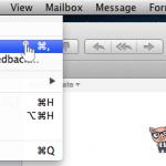 Mac Mail nastavitve - 3.korak