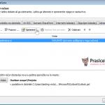 Outlook 2007 nastavitve - 2.korak