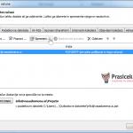 Outlook 2010 nastavitve - 2.korak