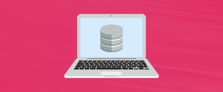 Katero podatkovno bazo uporablja spletna stran