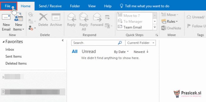 Outlook - datoteka