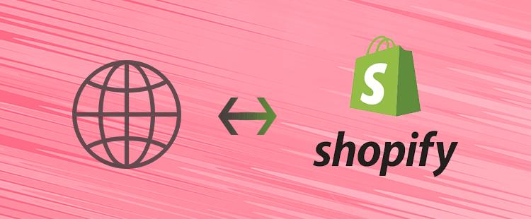 Kako povezati domeno s Shopify stranjo