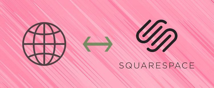 Kako povezati domeno s Squarespace stranjo?