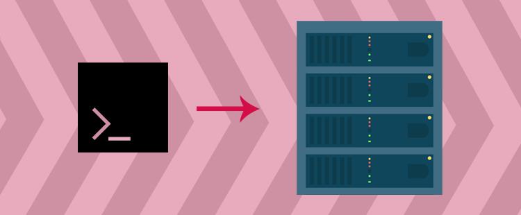 Povezava s SSH na paket gostovanja
